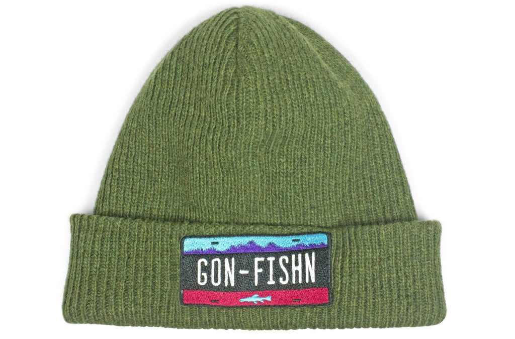 The Gon-Fishn Merino Wool Watch Cap Beanie