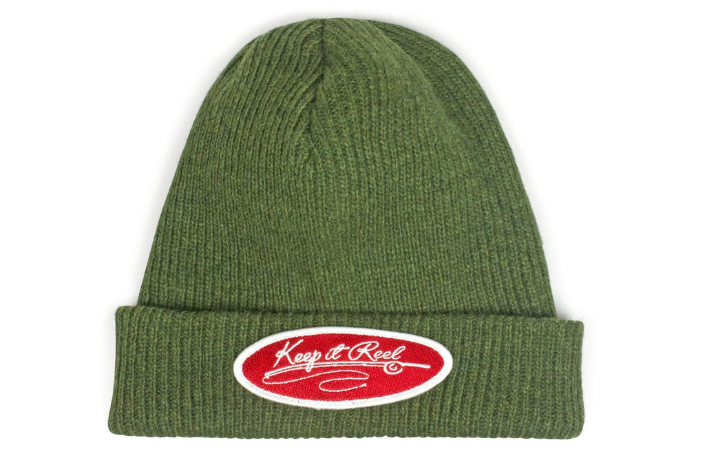 The Keep it Reel Merino Wool Watch Cap Beanie