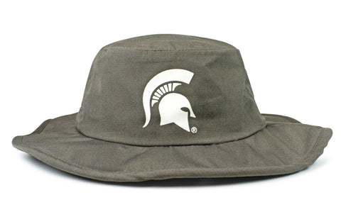 The Michigan State Spartans Gray All-Weather Lined Wool Boonie