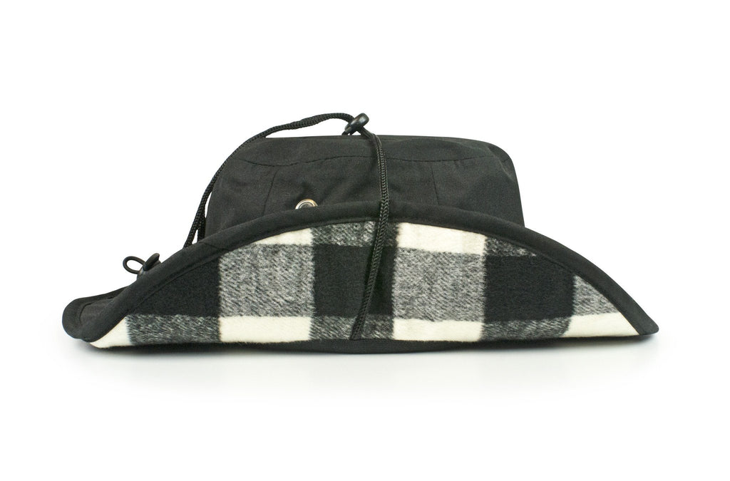 The Oregon Ducks Black All-Weather Lined Wool Boonie