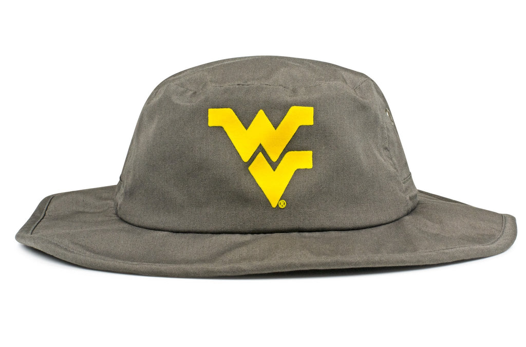 The West Virginia Mountaineers Gray All-Weather Lined Wool Boonie