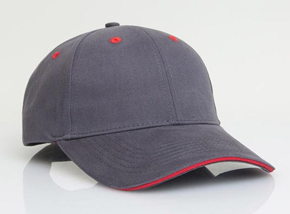 Brushed Twill Sandwich Visor (121C - PH)