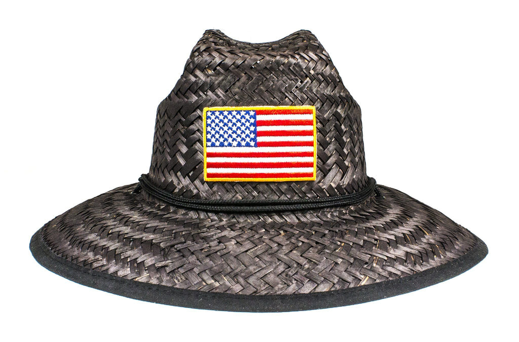 The American Flag Baywatch Lifeguard Hat