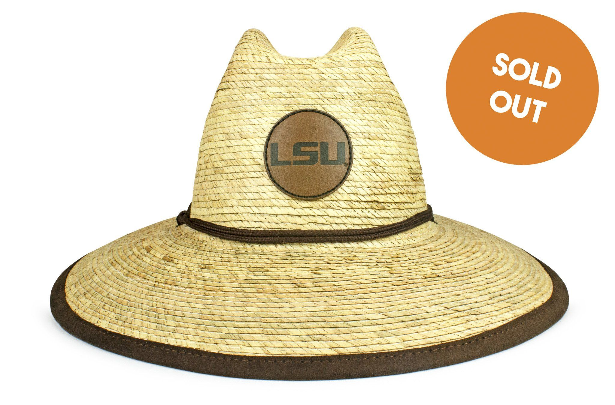 0af894eb3f6 The LSU Tigers Crushable Palm Sun Hat - Cowbucker
