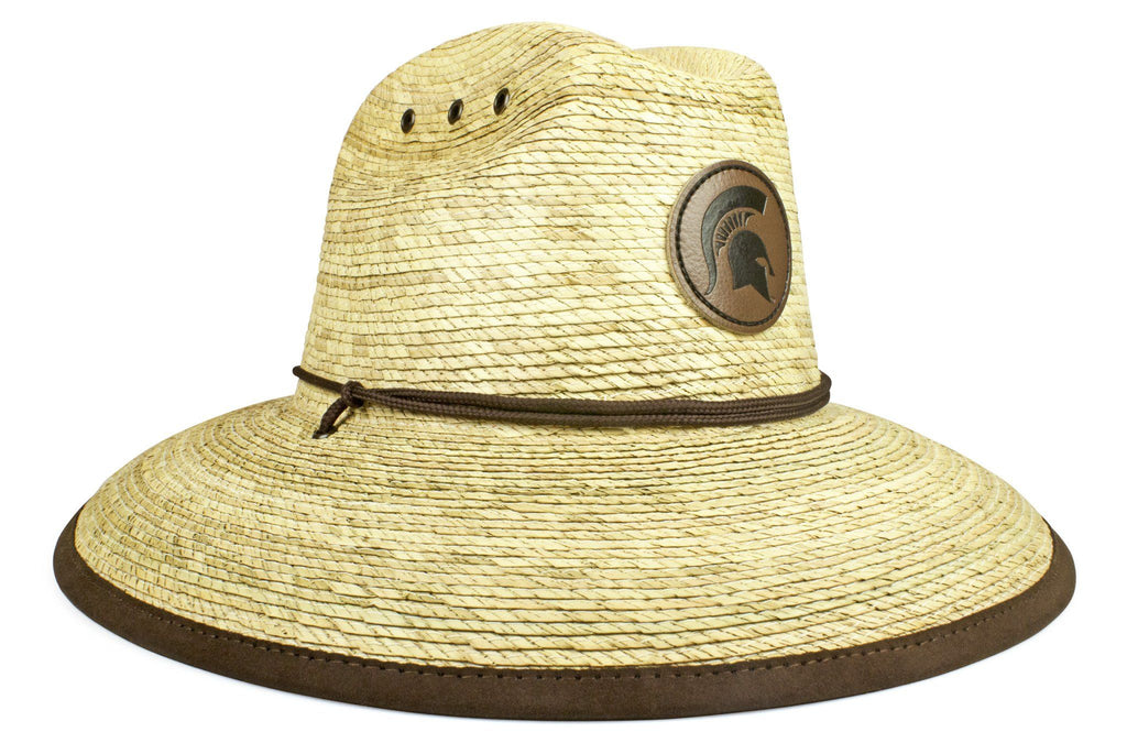 The Michigan State Spartans Crushable Palm Sun Hat