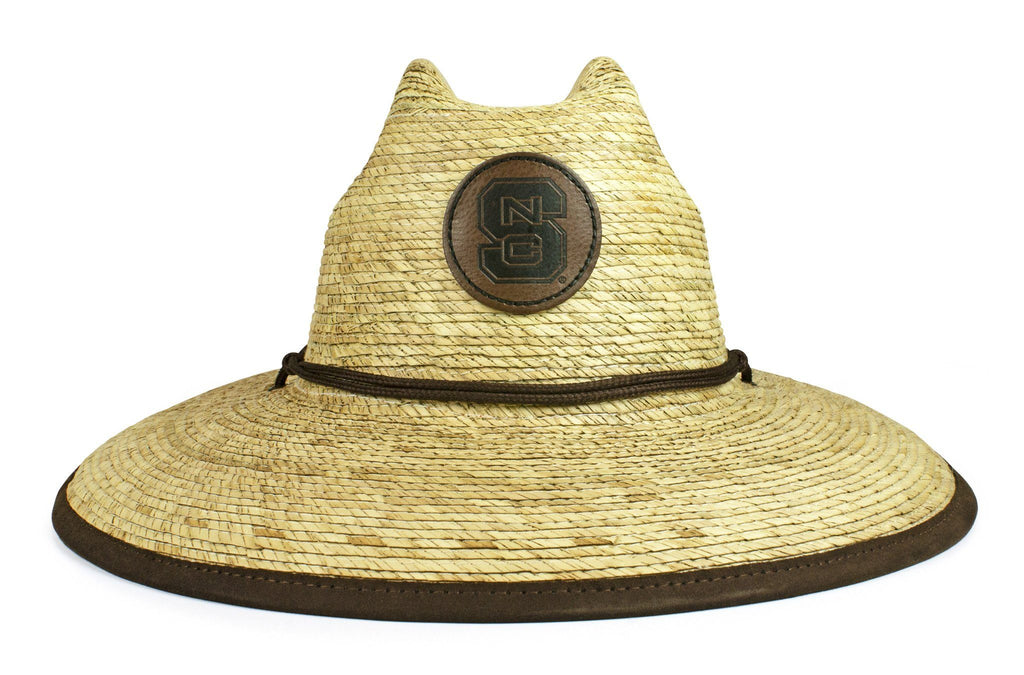 The NC State Wolfpack Crushable Palm Sun Hat