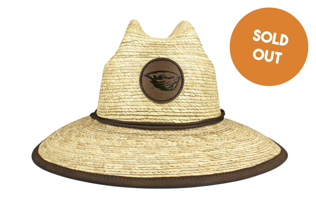 The Oregon State Beavers Crushable Palm Sun Hat