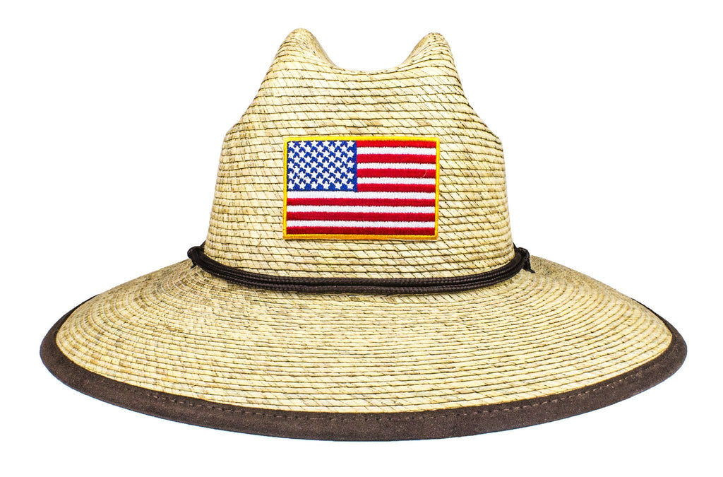 The American Flag Crushable Palm Sun Hat