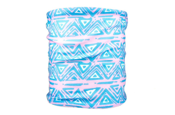 The 90s Blue Aztec Party Tube Bandana