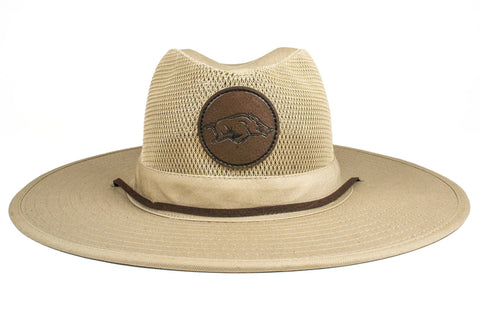 The Arkansas Razorbacks Safari Hat