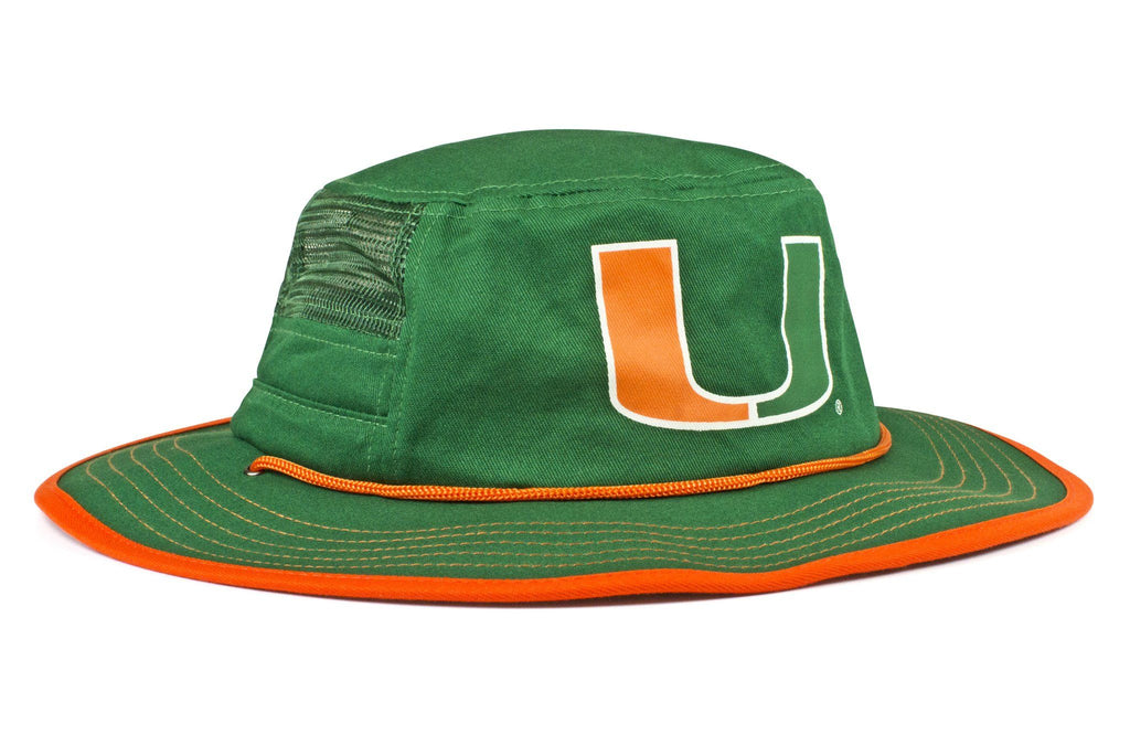 The Miami Hurricanes Green Boonie