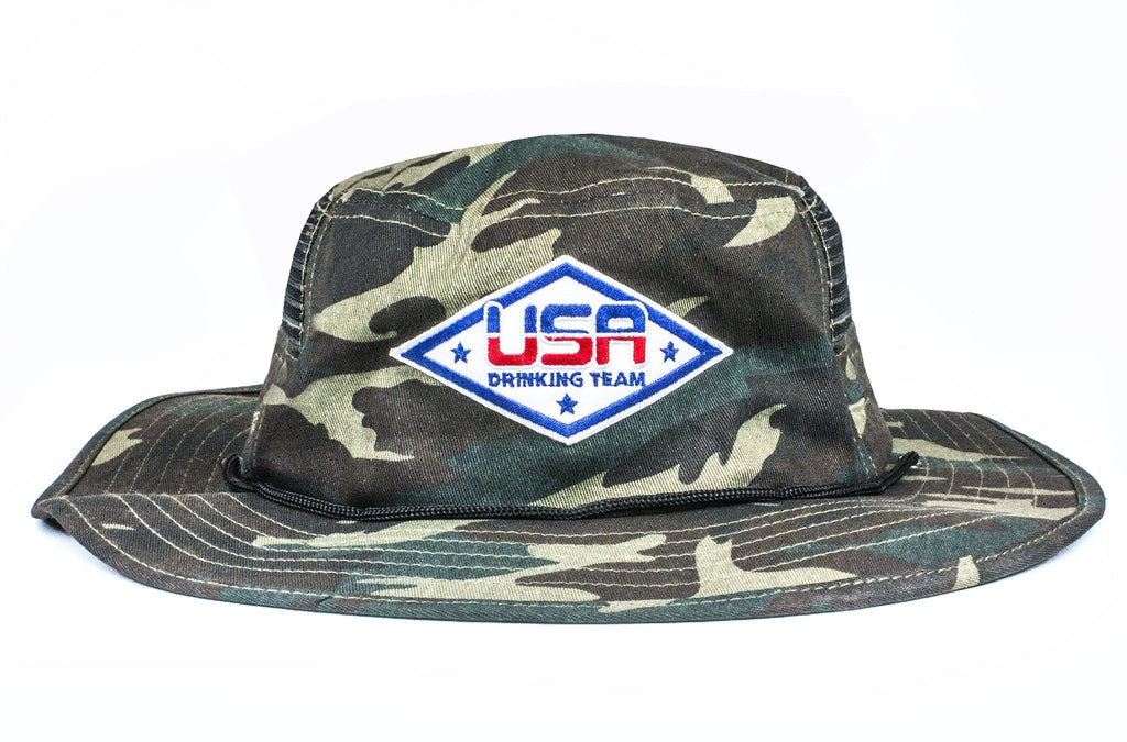 The USA Drinking Team Camo Boonie