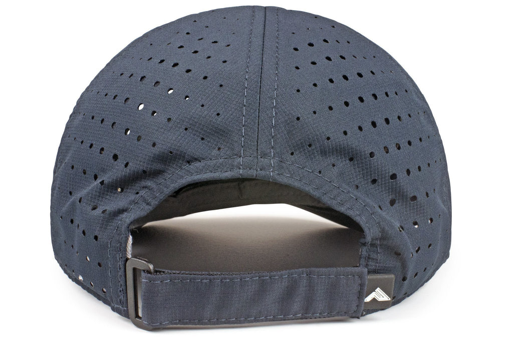 Light-weight Perforated Hook-and-Loop Cap (425L)