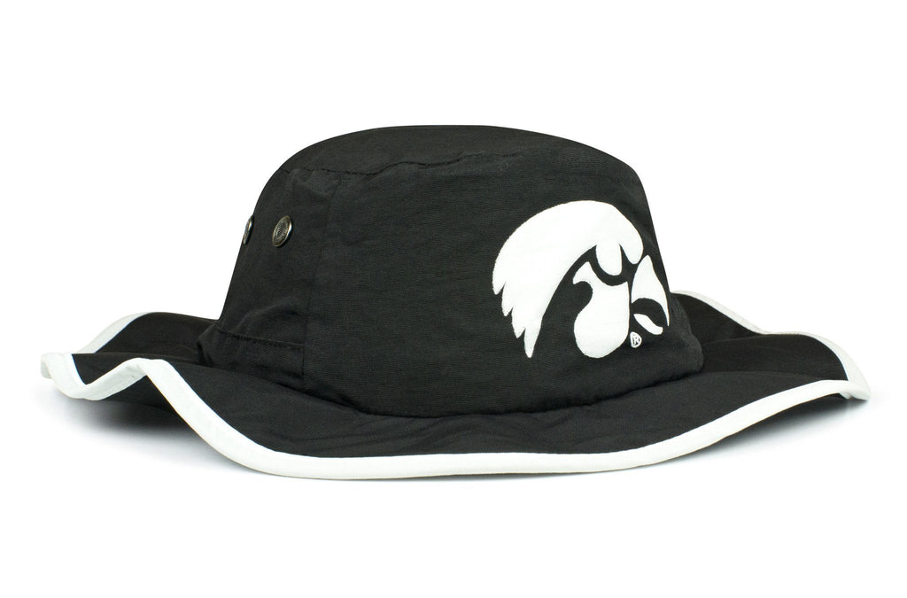 The Iowa Hawkeyes Black Waterproof Boonie