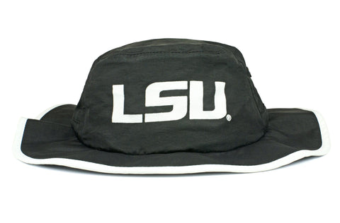 The LSU Tigers Black Waterproof Boonie
