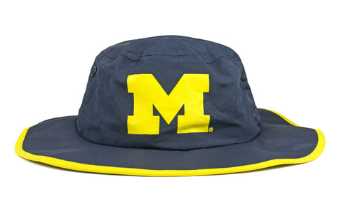 The Michigan Wolverines Blue Waterproof Boonie