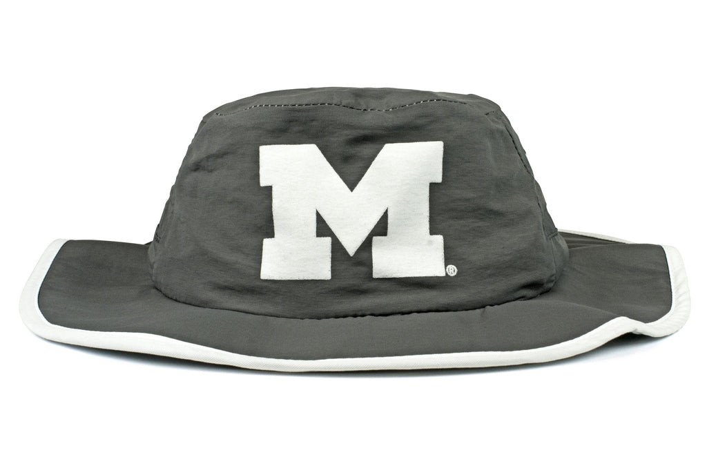 The Michigan Wolverines Gray Waterproof Boonie