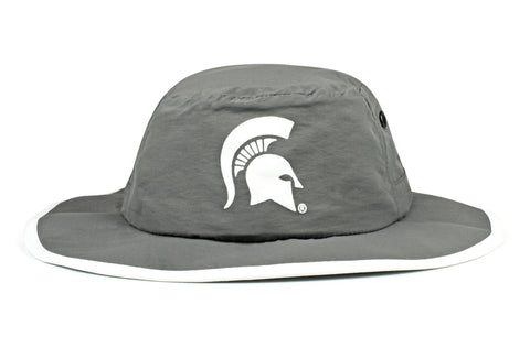 The Michigan State Spartans Gray Waterproof Boonie