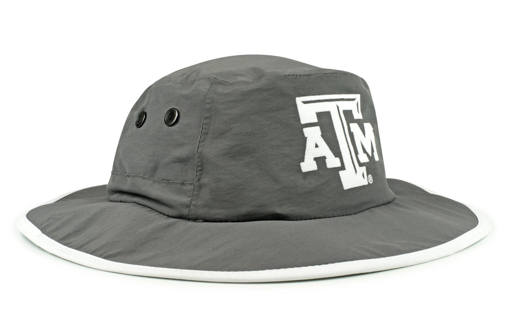 The Texas A&M Aggies Gray Waterproof Boonie