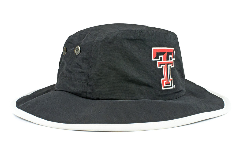 The Texas Tech Red Raiders Black Waterproof Boonie