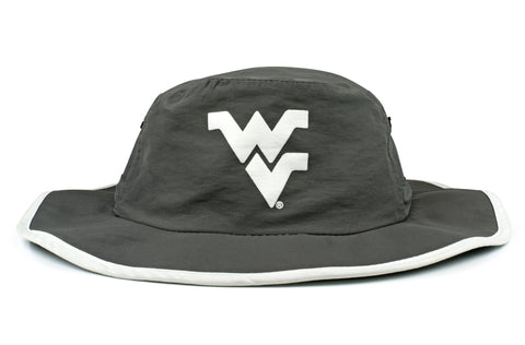 The West Virginia Mountaineers Gray Waterproof Boonie