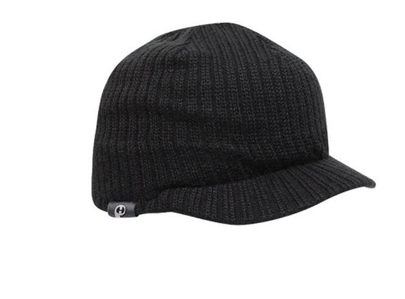 Knit Beanie With Visor (617K - PH)
