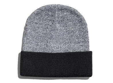 Heather Cuff Beanie (651K - PH)