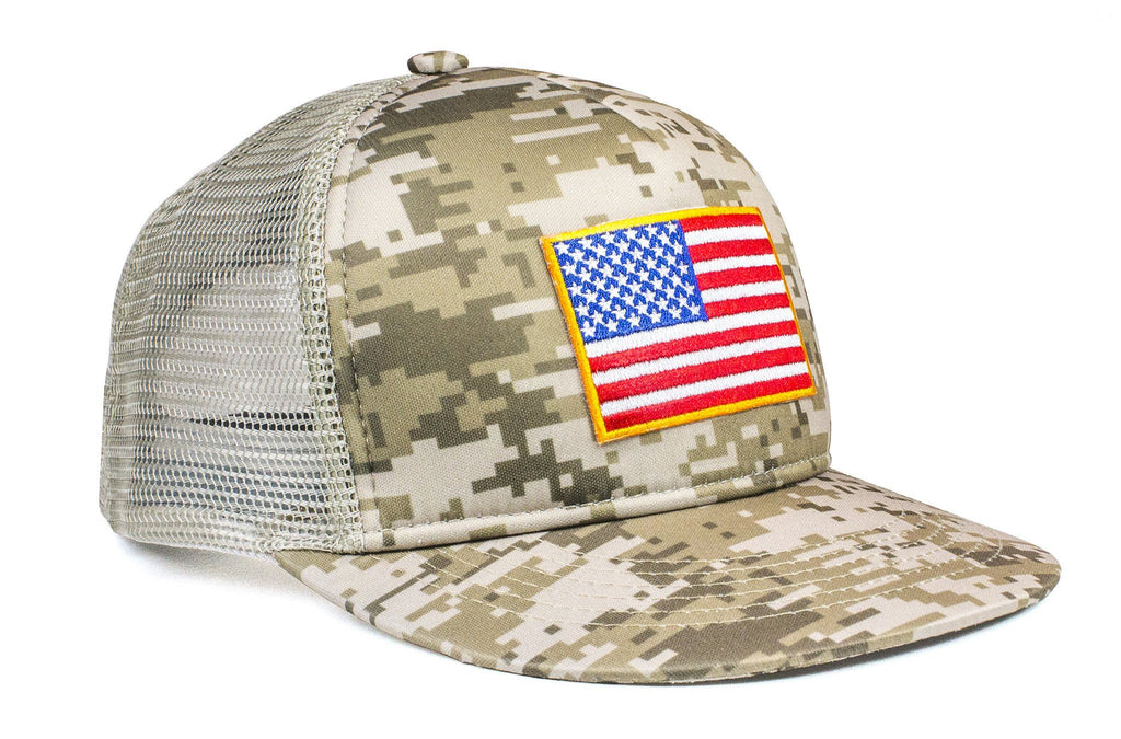 The American Flag Camo Trucker