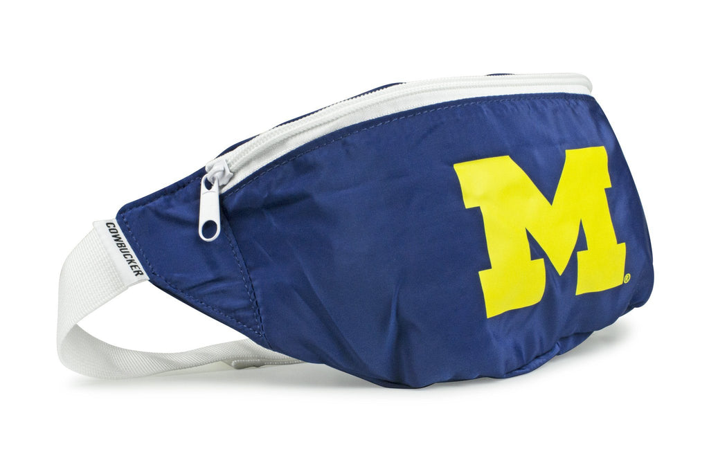 The Michigan Wolverines Blue Fanny Pack