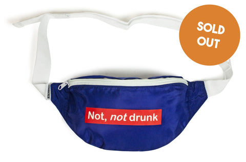 The 'Not, not drunk' Fanny Pack
