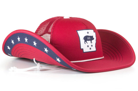 Arkansas Pride Bucker (Snapback)