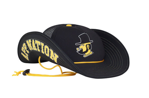The App State Mountaineers Snapback Buckers