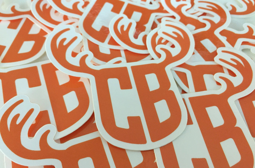 "Cowbucker ""CB Antler"" Sticker"