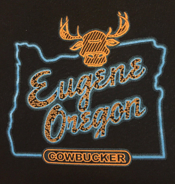 Cowbucker Eugene, Oregon Shirt