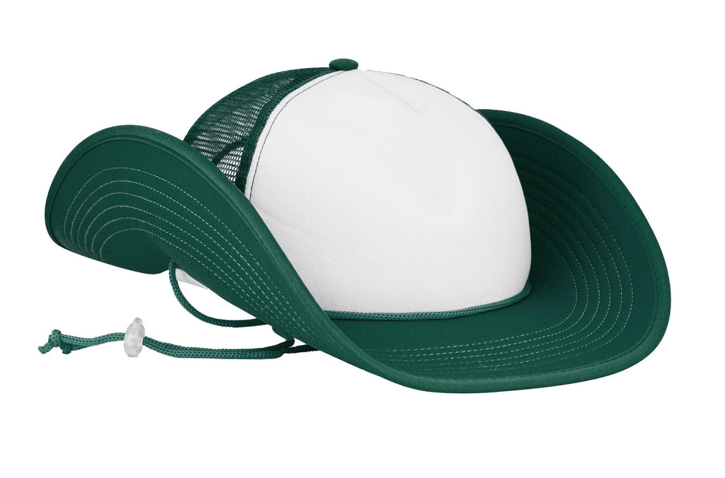 Green/White Bucker (Snapback)