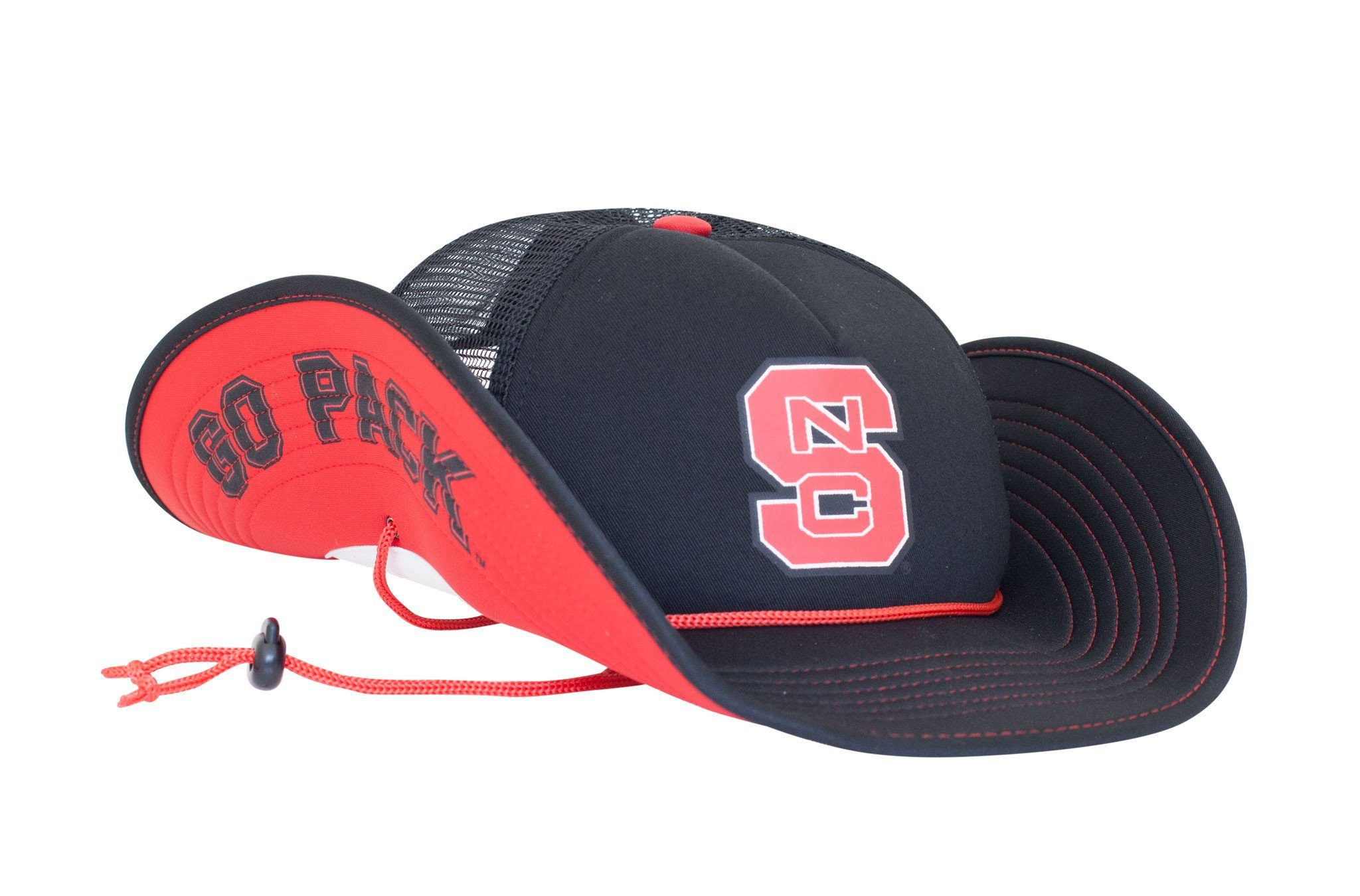 new concept 41bea d5df2 buy nc state dh fitted hat by zephyr black 77e4a b4628  50% off nc state  snapback buckers a17e5 428a2