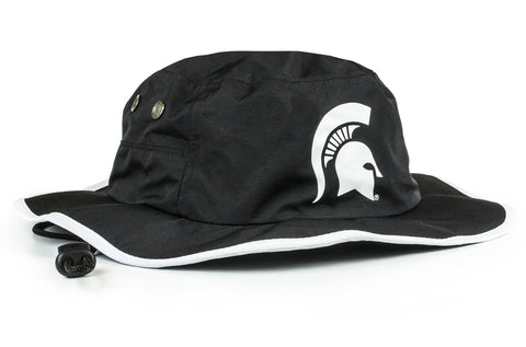 Michigan State Blackout Waterproof Boonie