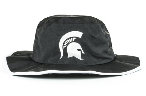 The Michigan State Spartans Blackout Waterproof Boonie