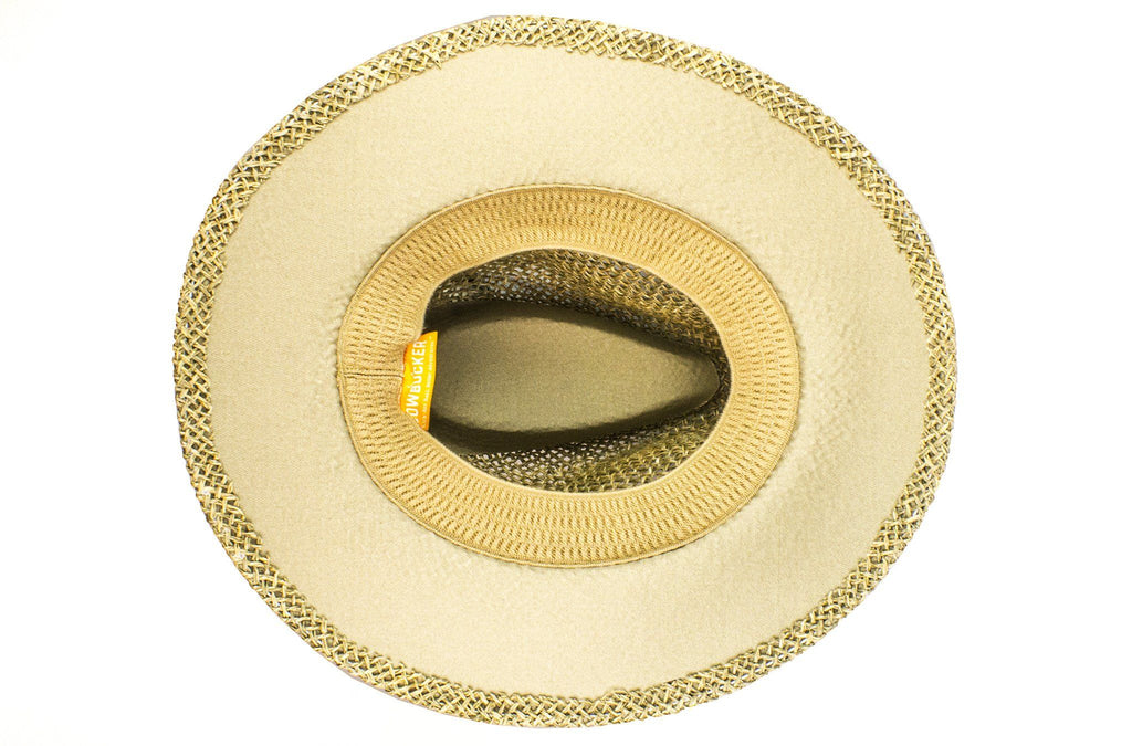 The Open-Weave Outback Straw Hat