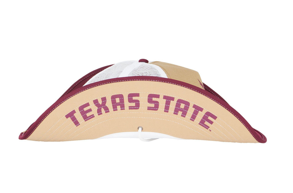 Texas State Bobcats Old Gold Bucker