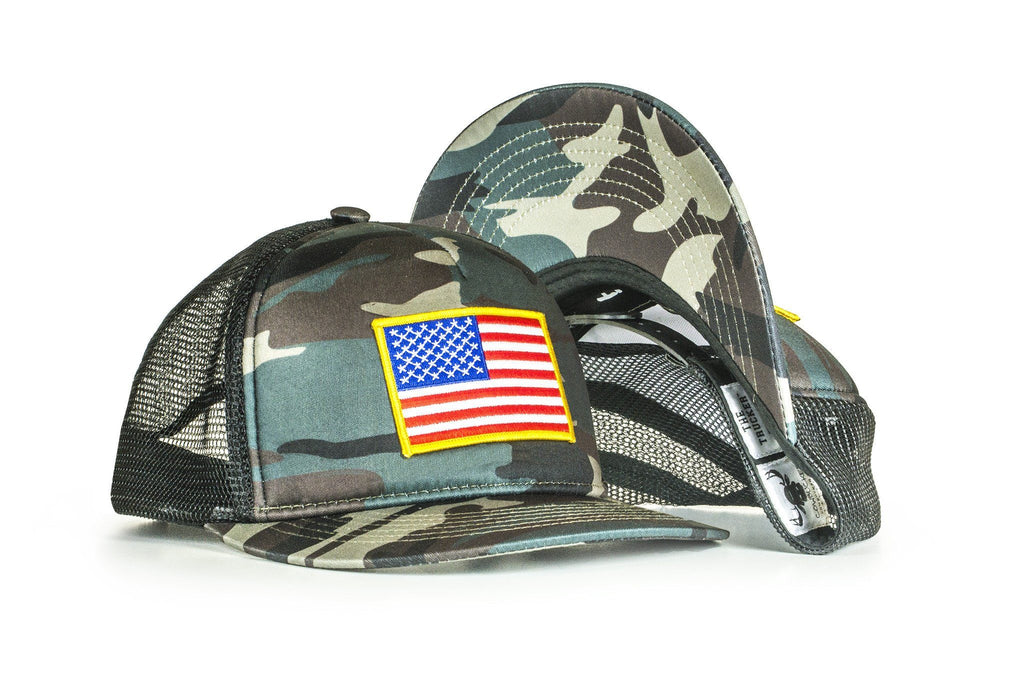 The O Say Camo See Trucker