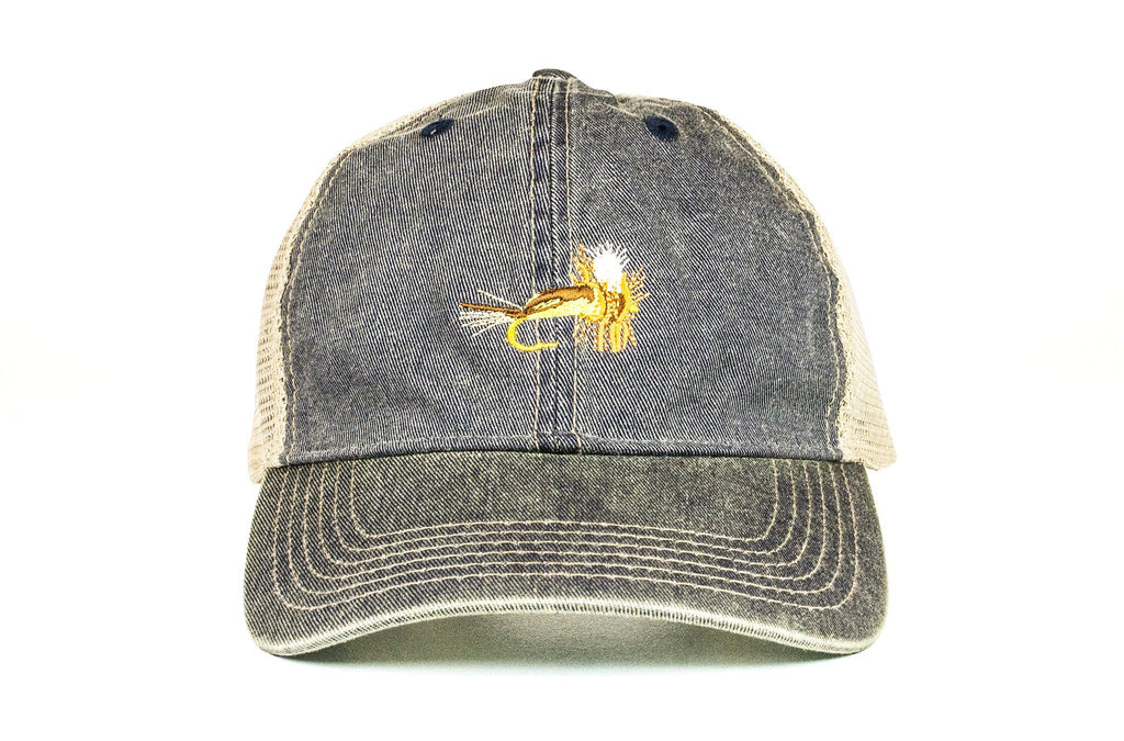 Yellow Humpy Vintage Trucker
