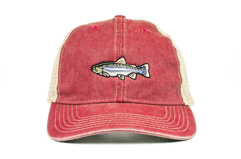 Rainbow Trout Vintage Trucker