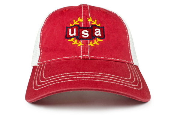 The USA Victory Vintage Trucker