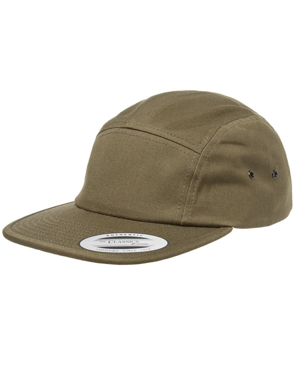 Cotton Low-Profile Five Panel Cap (Y7005)