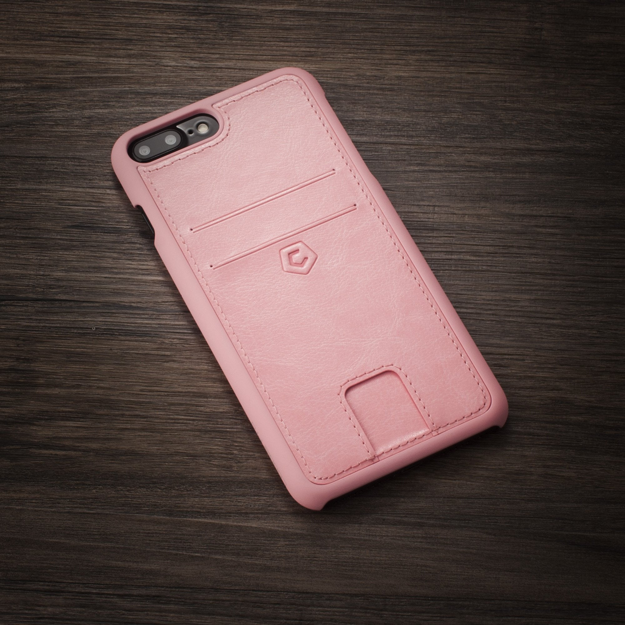 iphone 7 pink leather case