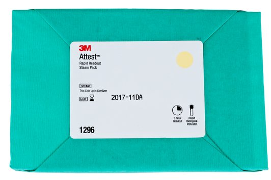 3M 1296 Attest Biological Indicator Test Pack