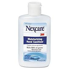 3M Nexcare Moisturising Hand Sanitizer 88ml bottle