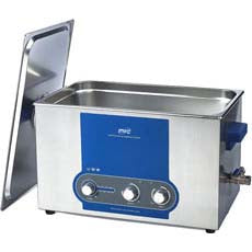 20 litre Ultrasonic Bath with Heater - Acorn Scientific