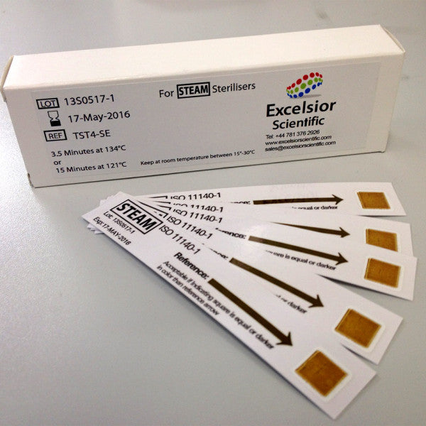 Excelsior Chemical Indicator Test Strips